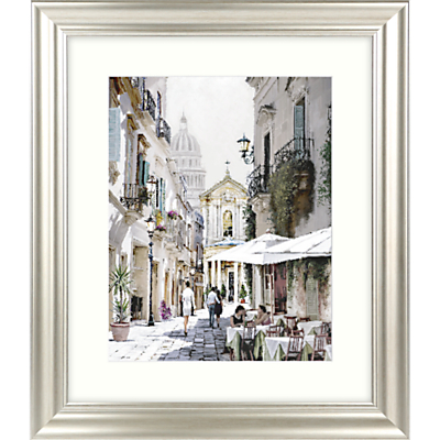 Image of Richard Macneil - City Street II Framed Print & Mount, 66 x 56cm