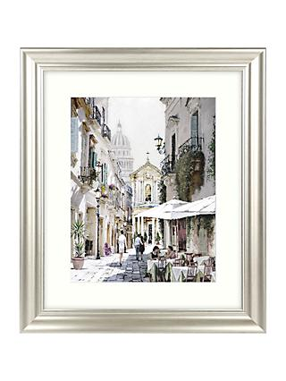 Richard Macneil - City Street II Framed Print & Mount, 66 x 56cm