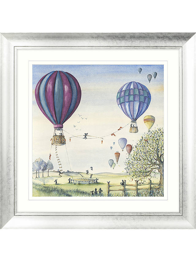 Buy Catherine Stephenson - With Friends All Things Are Possible Embellished Framed Print & Mount, 70 x 70cm Online at johnlewis.com