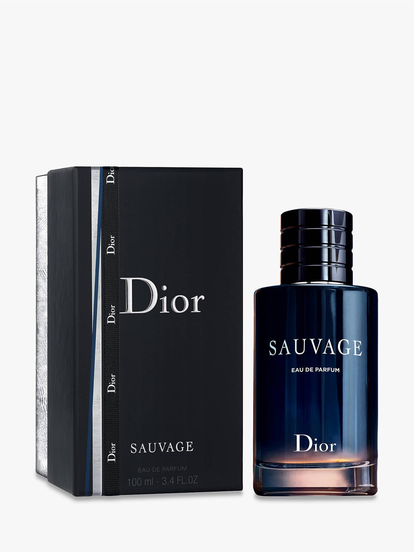Dior Sauvage Eau De Parfum Gift Wrapped 100ml At John Lewis Partners