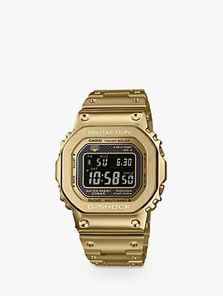 Casio GMW-B5000GD-9ER Men's G-Shock Bluetooth Bracelet Strap Watch, Gold/Black
