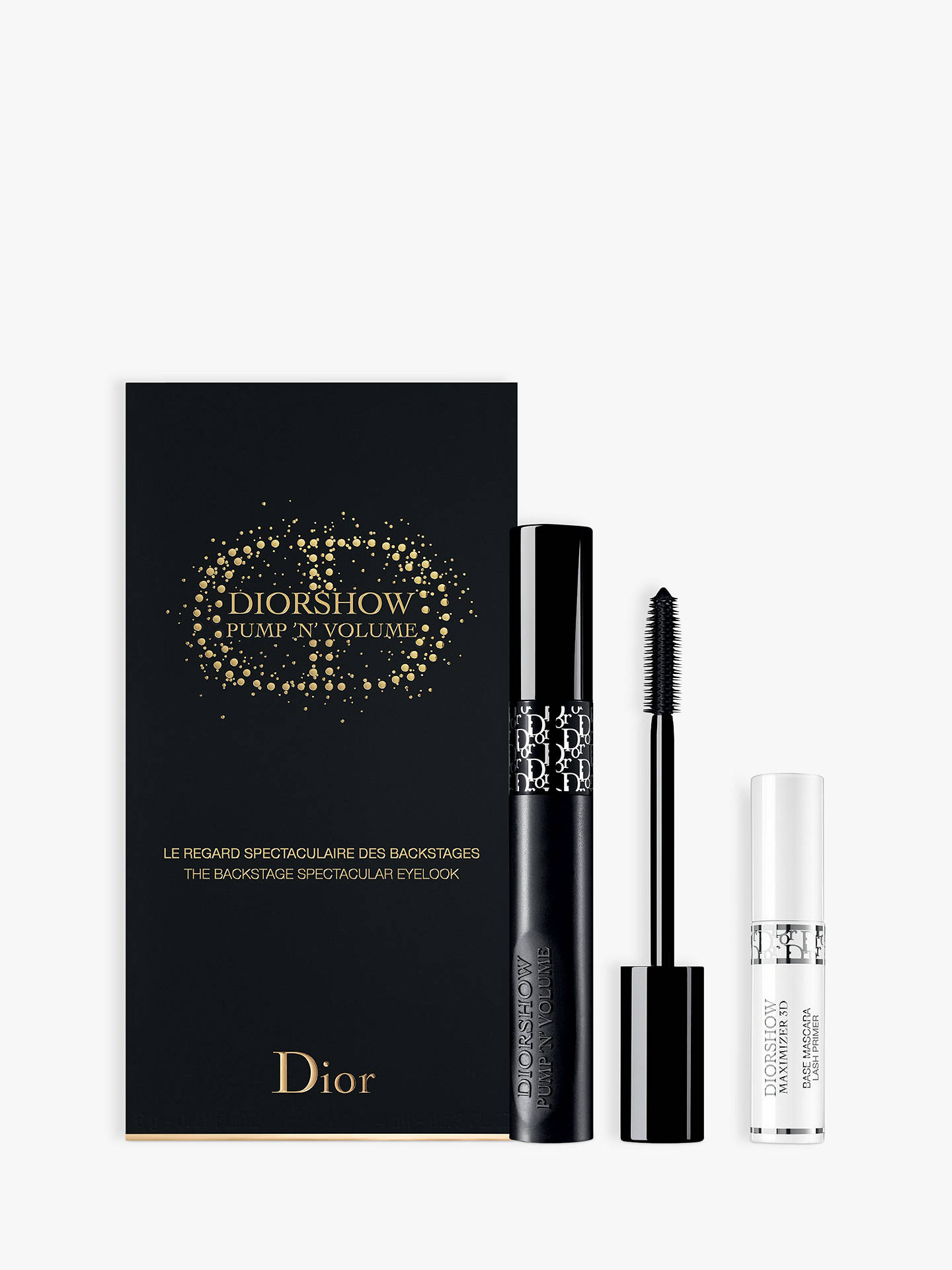 13aa8acc1341a Buy Dior Pump  N  Volume Mascara Makeup Gift Set Online at johnlewis.com