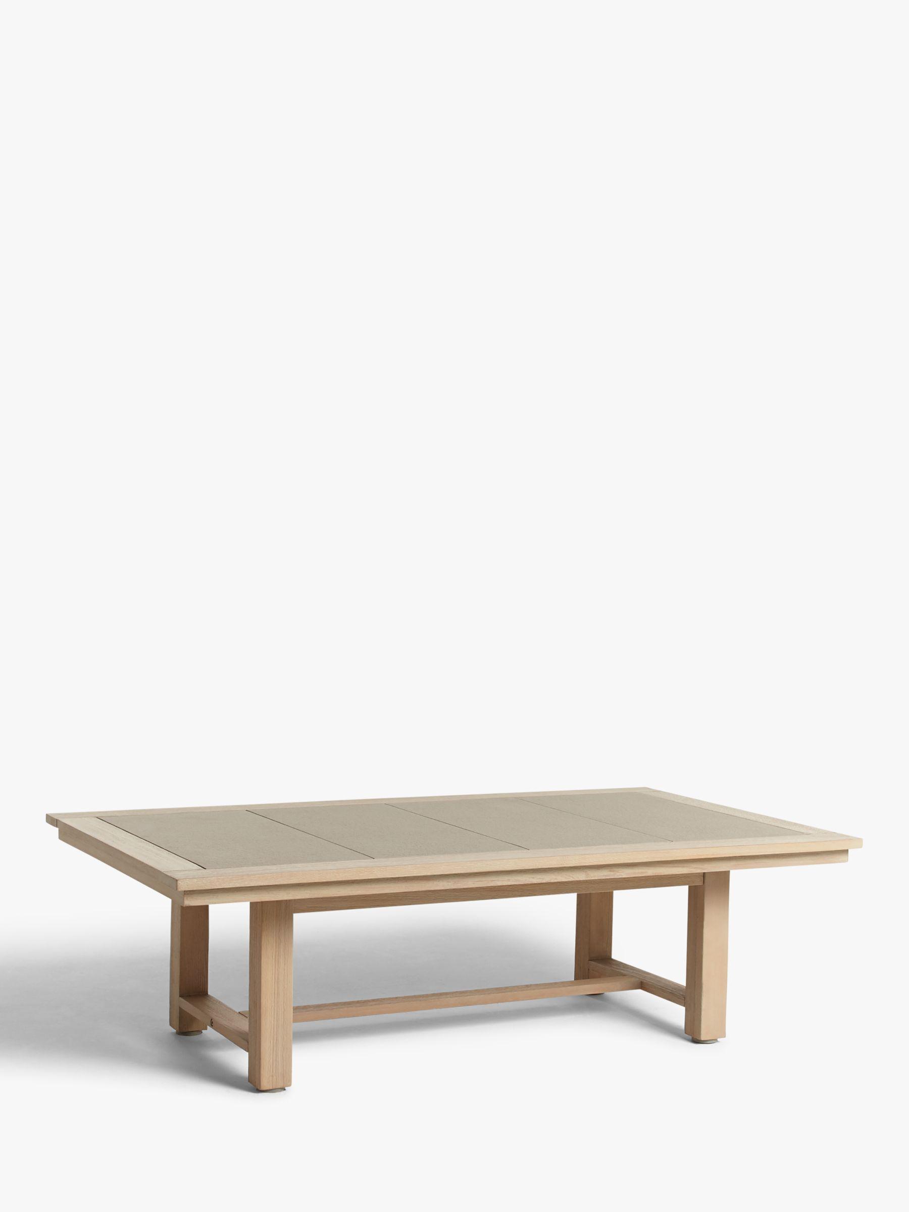 John Lewis & Partners St Ives Garden Coffee Table, FSC-Certified (Eucalyptus Wood), Natural