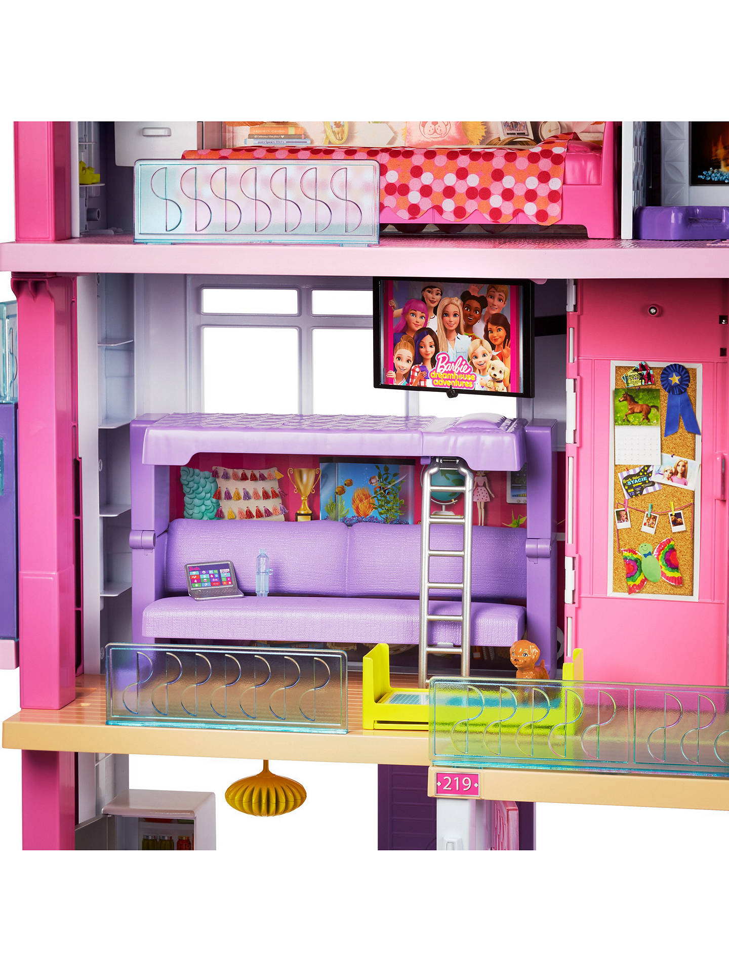 BuyBarbie Dreamhouse With Slide Online at johnlewis.com