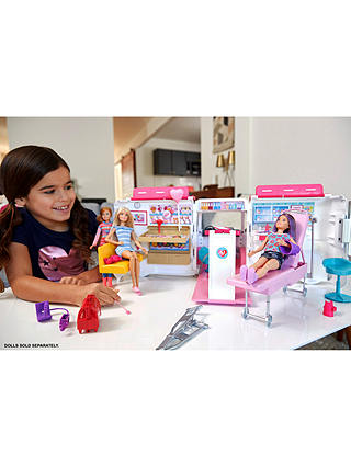 Buy Barbie Care Clinic Vehicle Online at johnlewis.com
