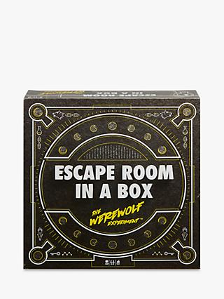 Mattel Escape Room In A Box: The Werewolf Experiment