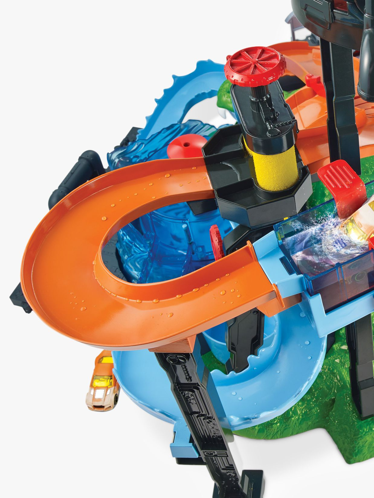 Hot Wheels Ultimate Gator Car Wash Track Set At John Lewis Partners