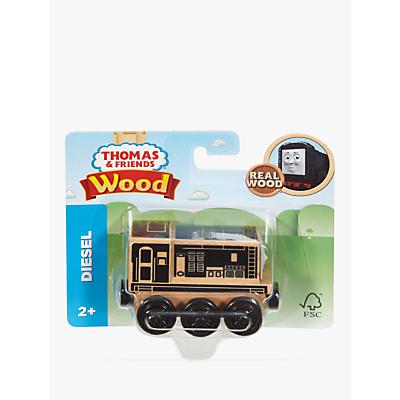 Image of Thomas & Friends Wood Diesel Toy Train