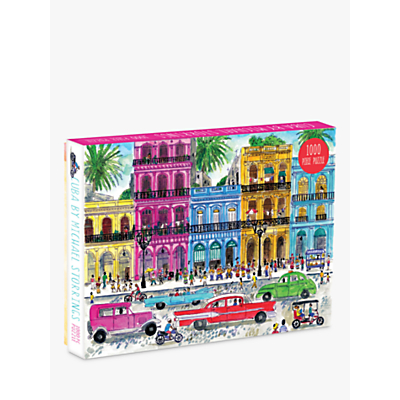 Image of Galison Cuba Jigsaw Puzzle, 1000 Pieces