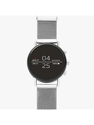 e8b617b8c64e Skagen Men s Falster Mesh Bracelet Strap Smartwatch