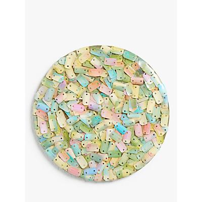 John Lewis & Partners Sequin Coasters, Set of 4, Multi