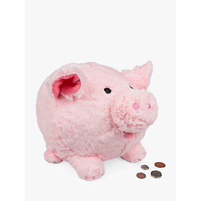Image of Cuddly Piggy Bank Soft Toy