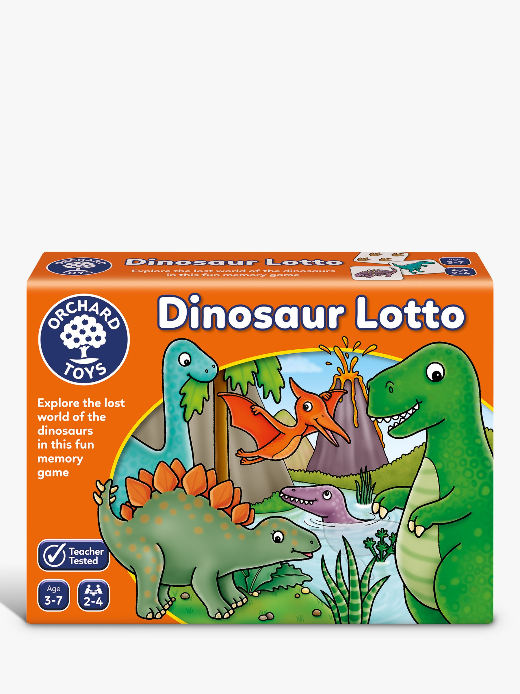 Orchard Toys Orchard Toys Dinosaur Lotto Match and Memory Game