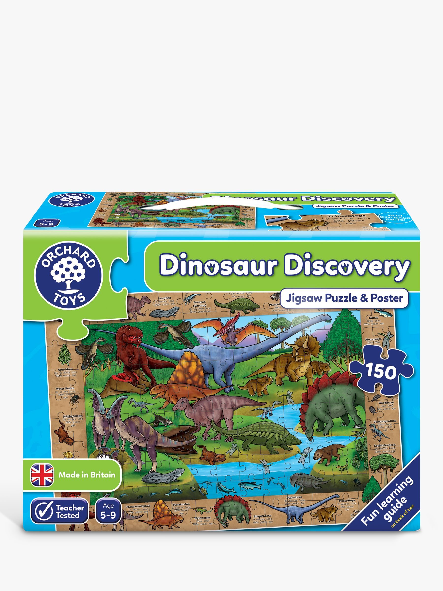 Orchard Toys Orchard Toys Dinosaur Discover Jigsaw Puzzle, 150 Pieces