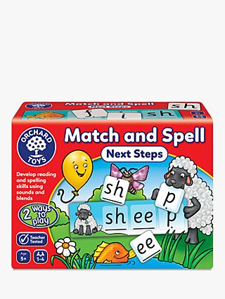 Orchard Toys Match and Spell Next Steps Spelling Game