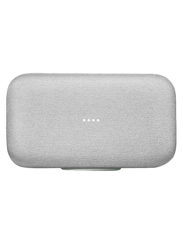 Buy Google Home Max Hands-Free Smart Speaker, Chalk Online at johnlewis.com