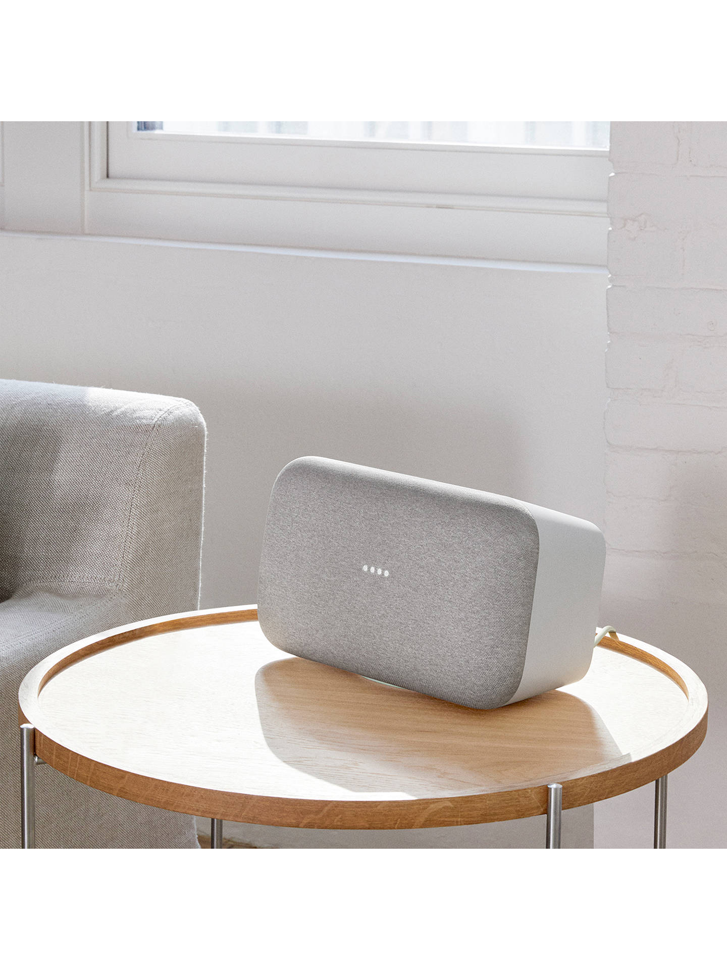 Google Home Max Hands Free Smart Speaker at John Lewis & Partners