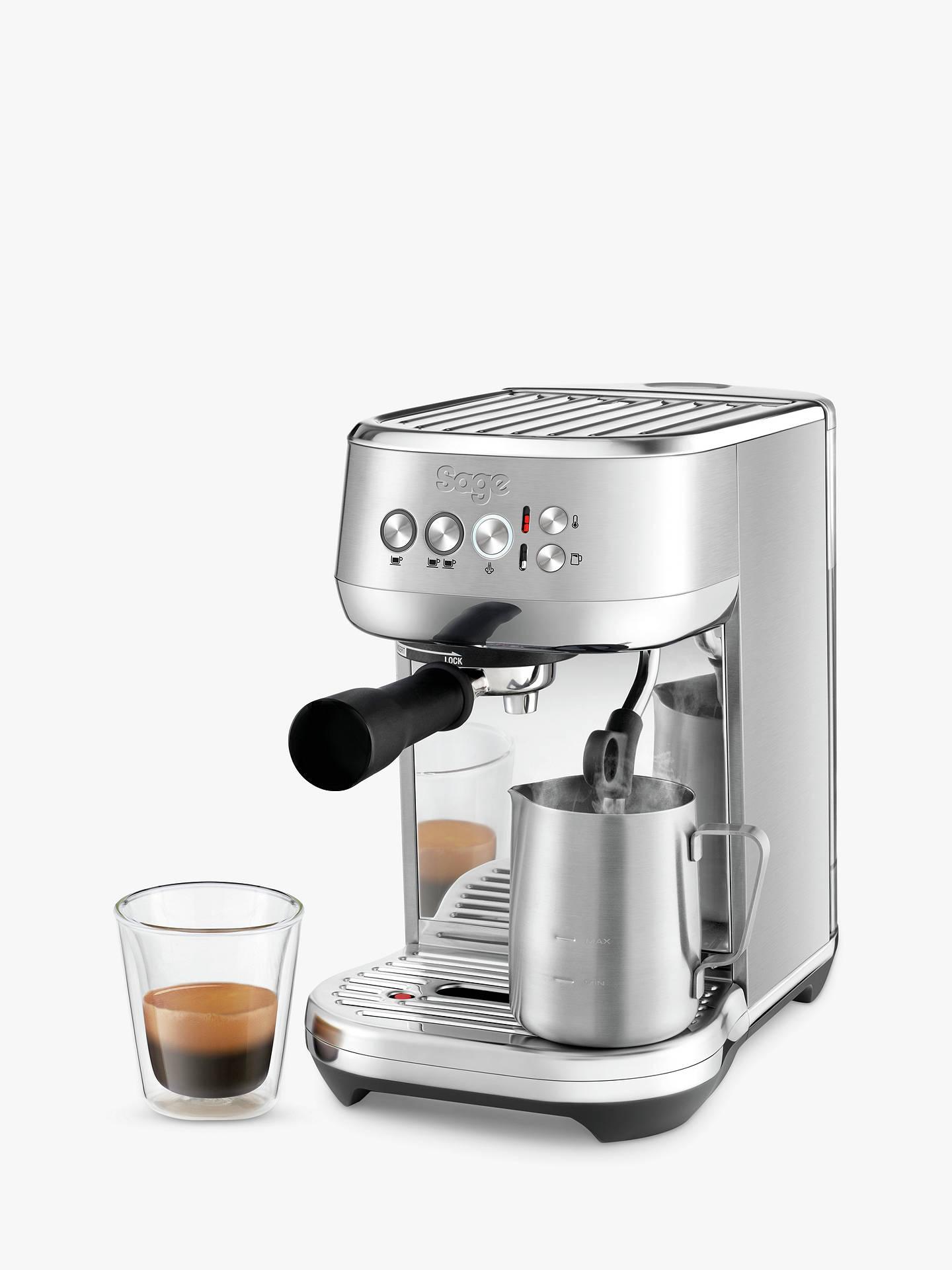 Sage Ses500bss Bambino Plus Coffee Machine Silver
