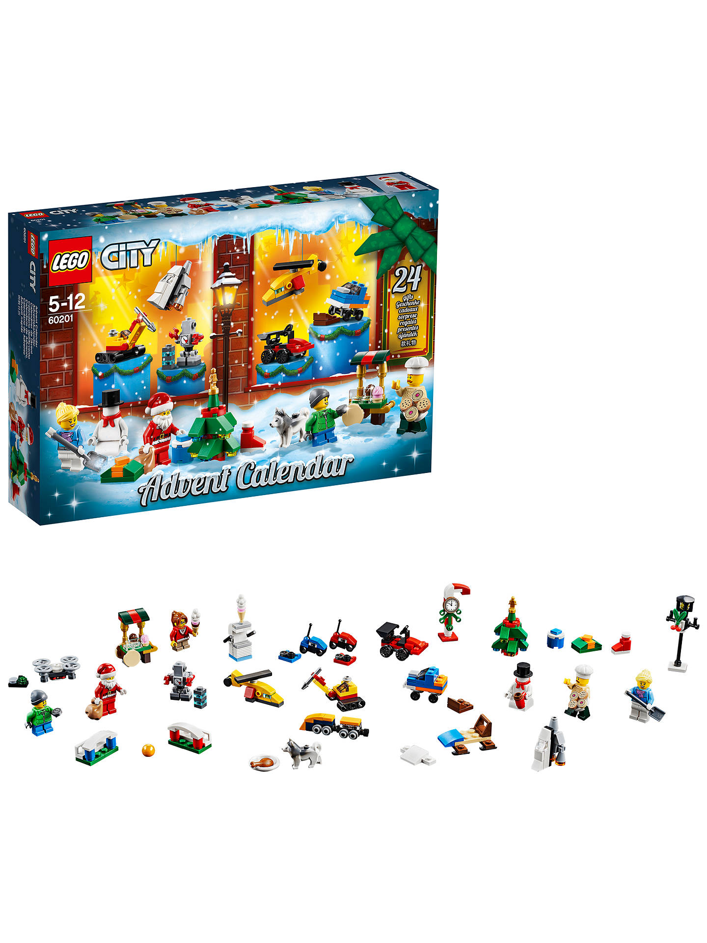 BuyLEGO City 60201 Advent Calendar Online at johnlewis.com