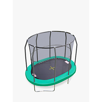 JumpKing 7 x 10ft Oval Trampoline
