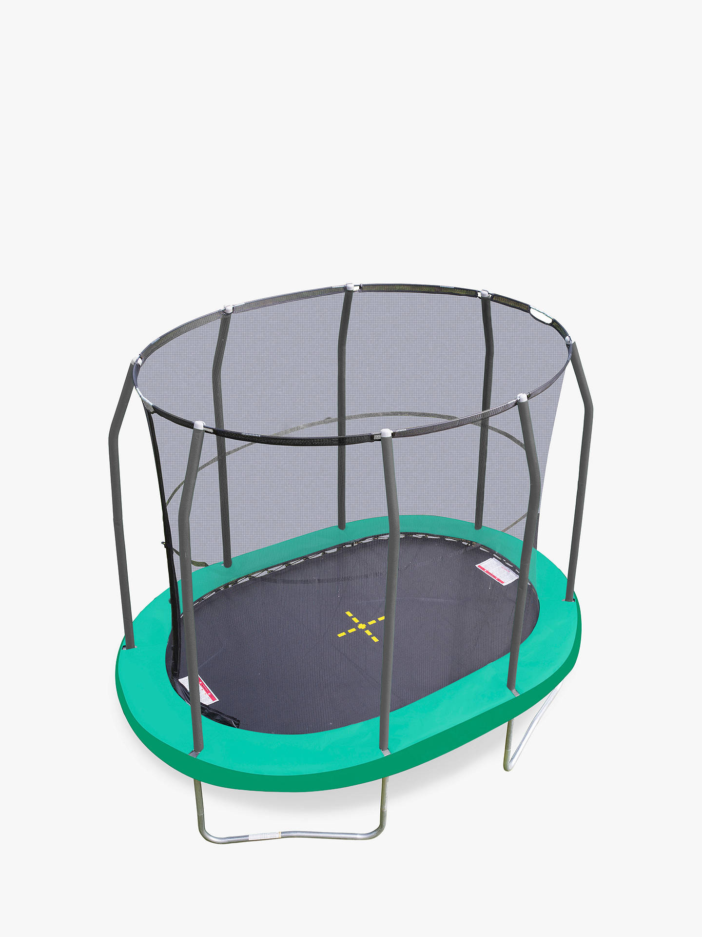 BuyJumpKing 7 x 10ft Oval Trampoline Online at johnlewis.com