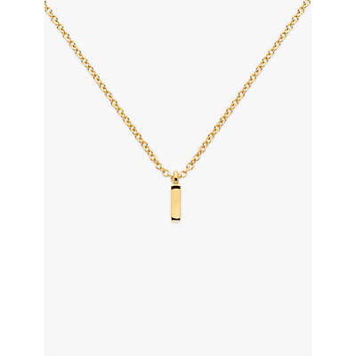 Melissa Odabash Gold Plated Initial Pendant Necklace