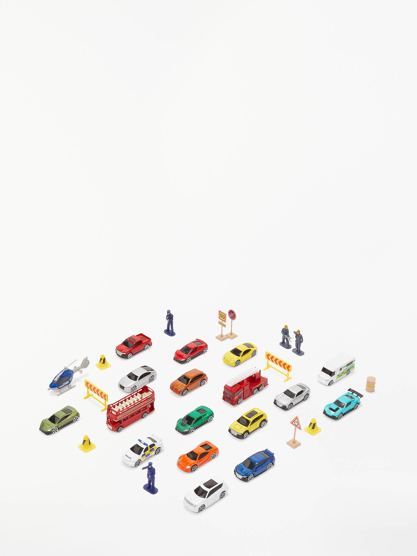 Buy John Lewis & Partners City Vehicles and Accessories Advent Calendar Online at johnlewis.com