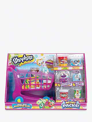 Shopkins Mini Packs Small Mart Shoppin' Cart