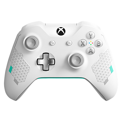 Image of Microsoft Xbox Wireless Controller Special Edition, Sport White