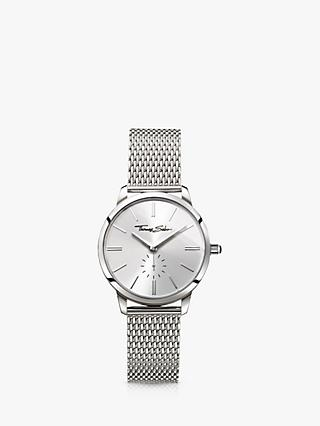 THOMAS SABO Women's Glam Spirit Mesh Bracelet Strap Watch
