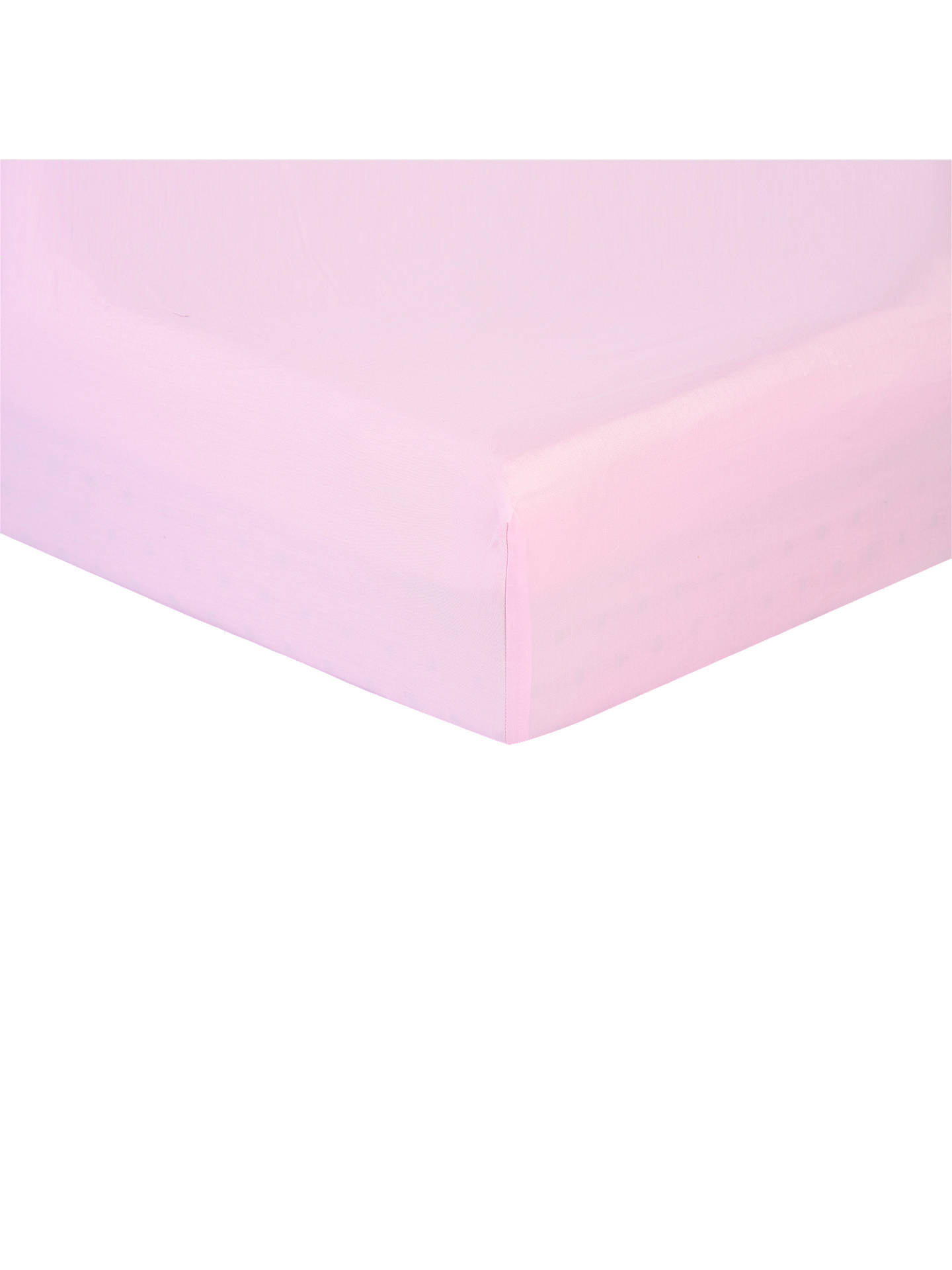 Buy Rachel Riley My Little Princess Fitted Sheet, Single, Light Pink Online at johnlewis.com