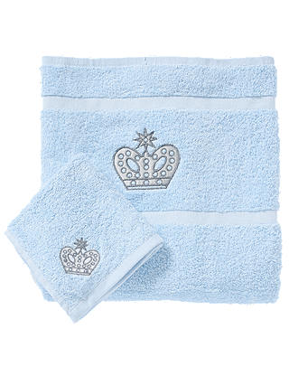 Buy Rachel Riley My Little Prince Bath and Face Towel Set, Light Blue Online at johnlewis.com
