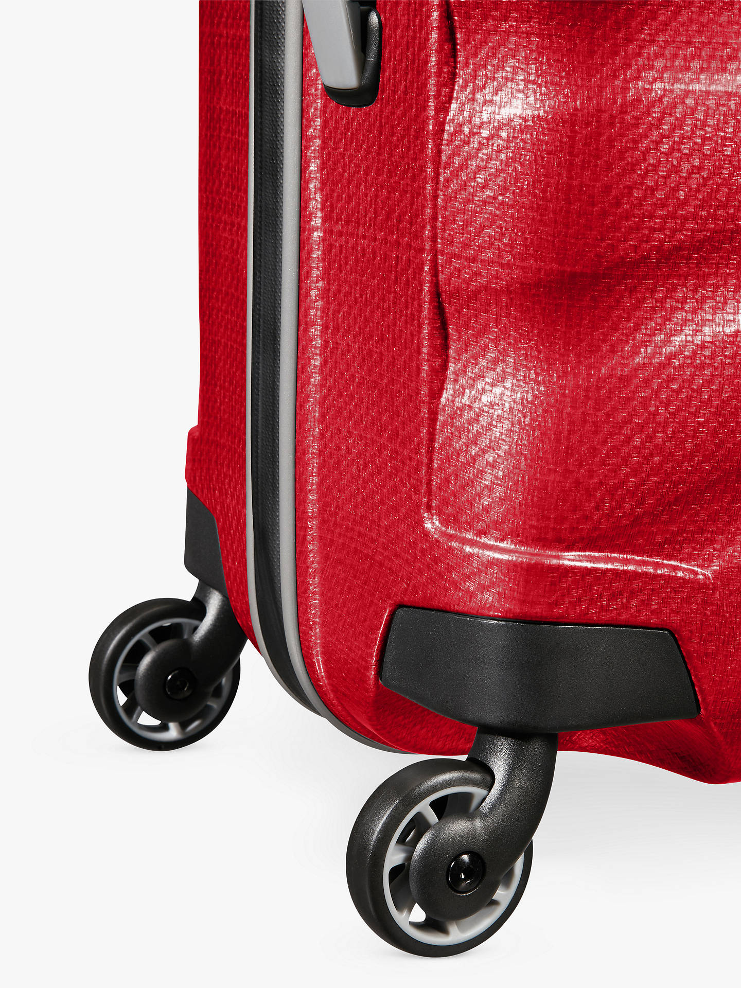 Buy Samsonite Firelite 4-Wheel 69cm Medium Spinner Suitcase, Chilli Red Online at johnlewis.com