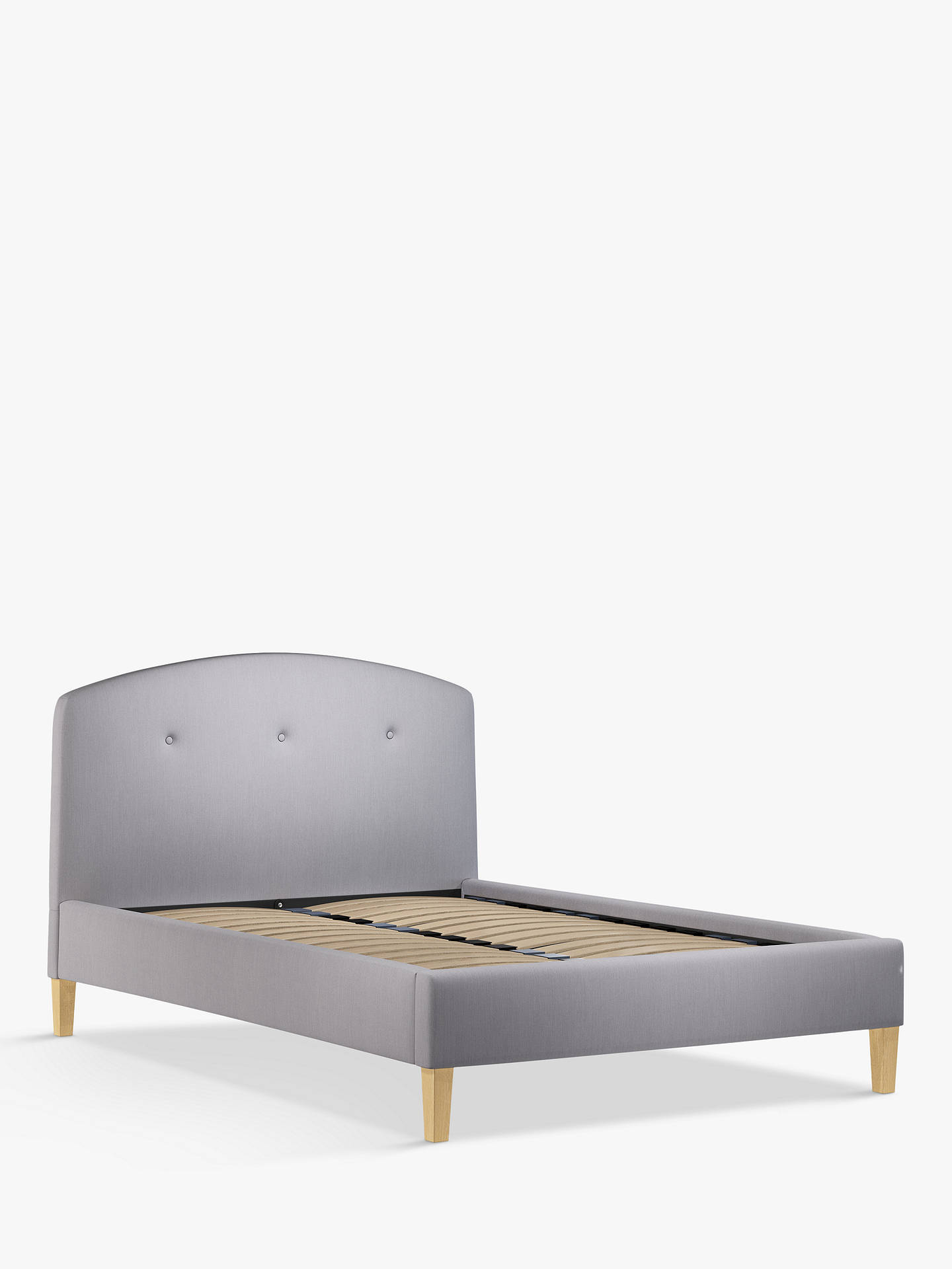 Awe Inspiring John Lewis Partners Grace Upholstered Bed Frame Double Topaz Grey Download Free Architecture Designs Intelgarnamadebymaigaardcom