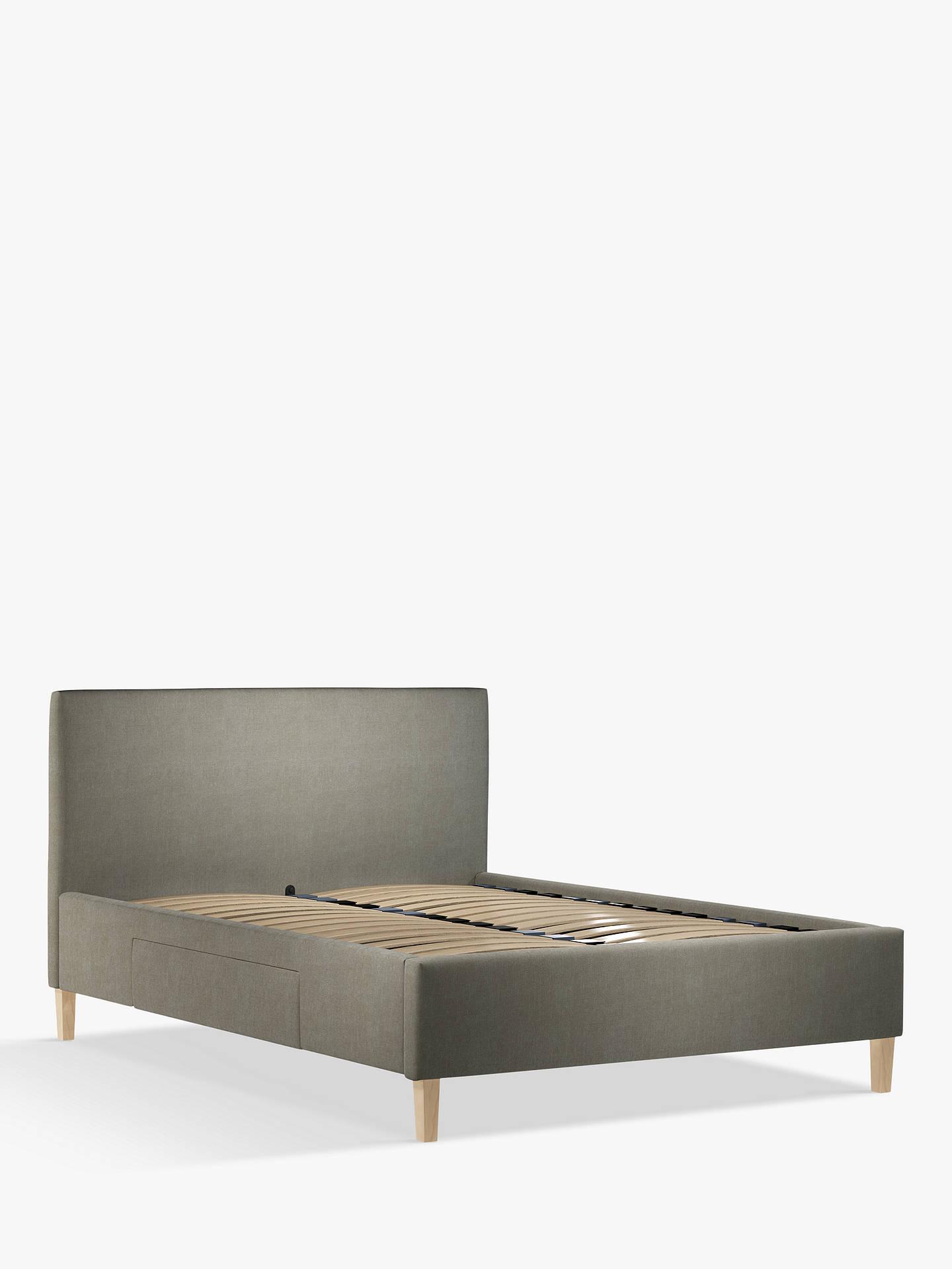 1399d10359c2 Buy John Lewis & Partners Emily 2 Drawer Storage Upholstered Bed Frame,  King Size, ...