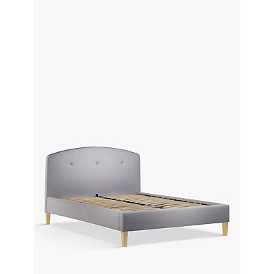 John Lewis & Partners Grace Upholstered Bed Frame, King Size, Topaz Grey