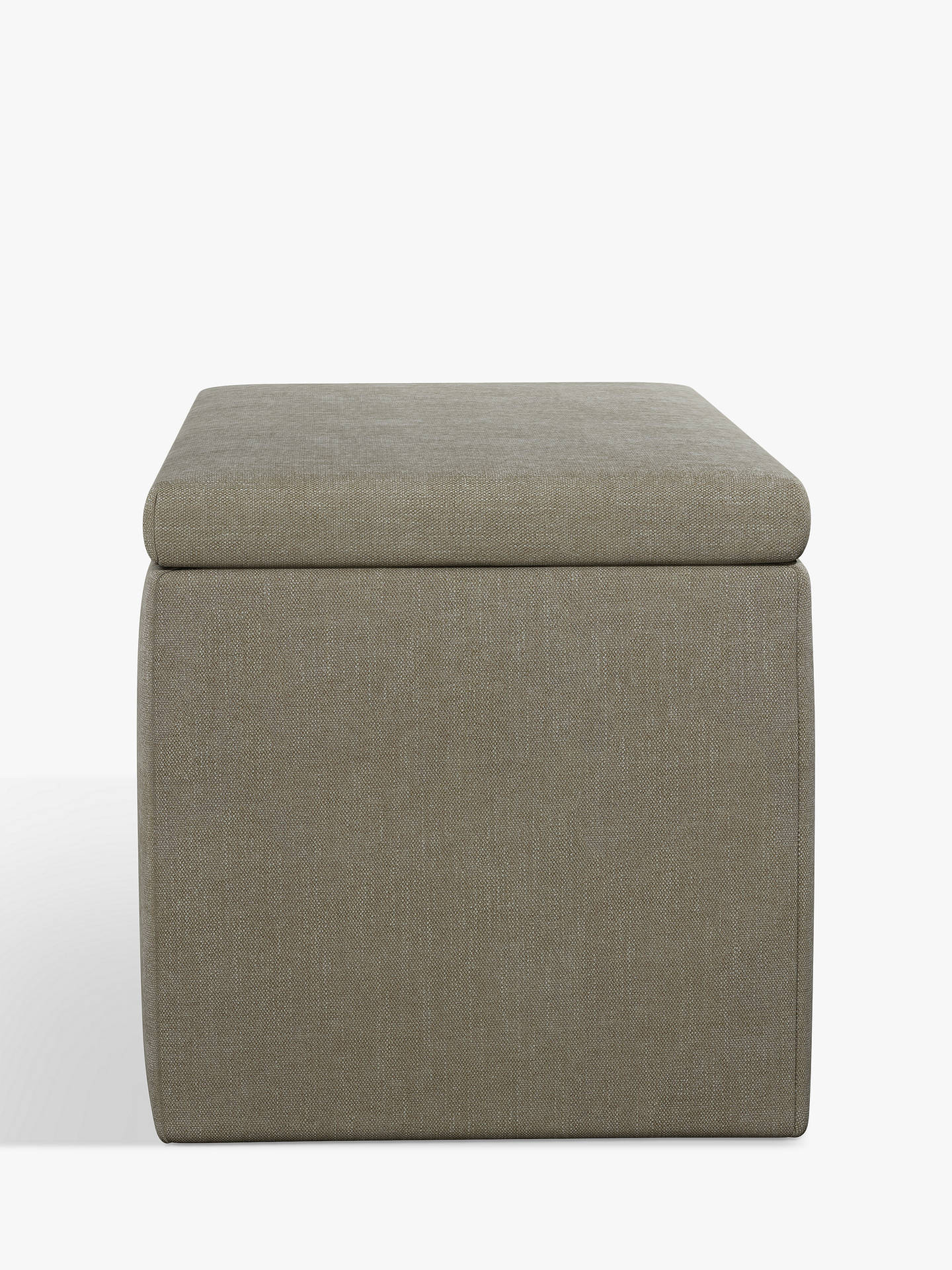 Surprising John Lewis Partners Emily Upholstered Ottoman Storage Box Erin Grey Gmtry Best Dining Table And Chair Ideas Images Gmtryco