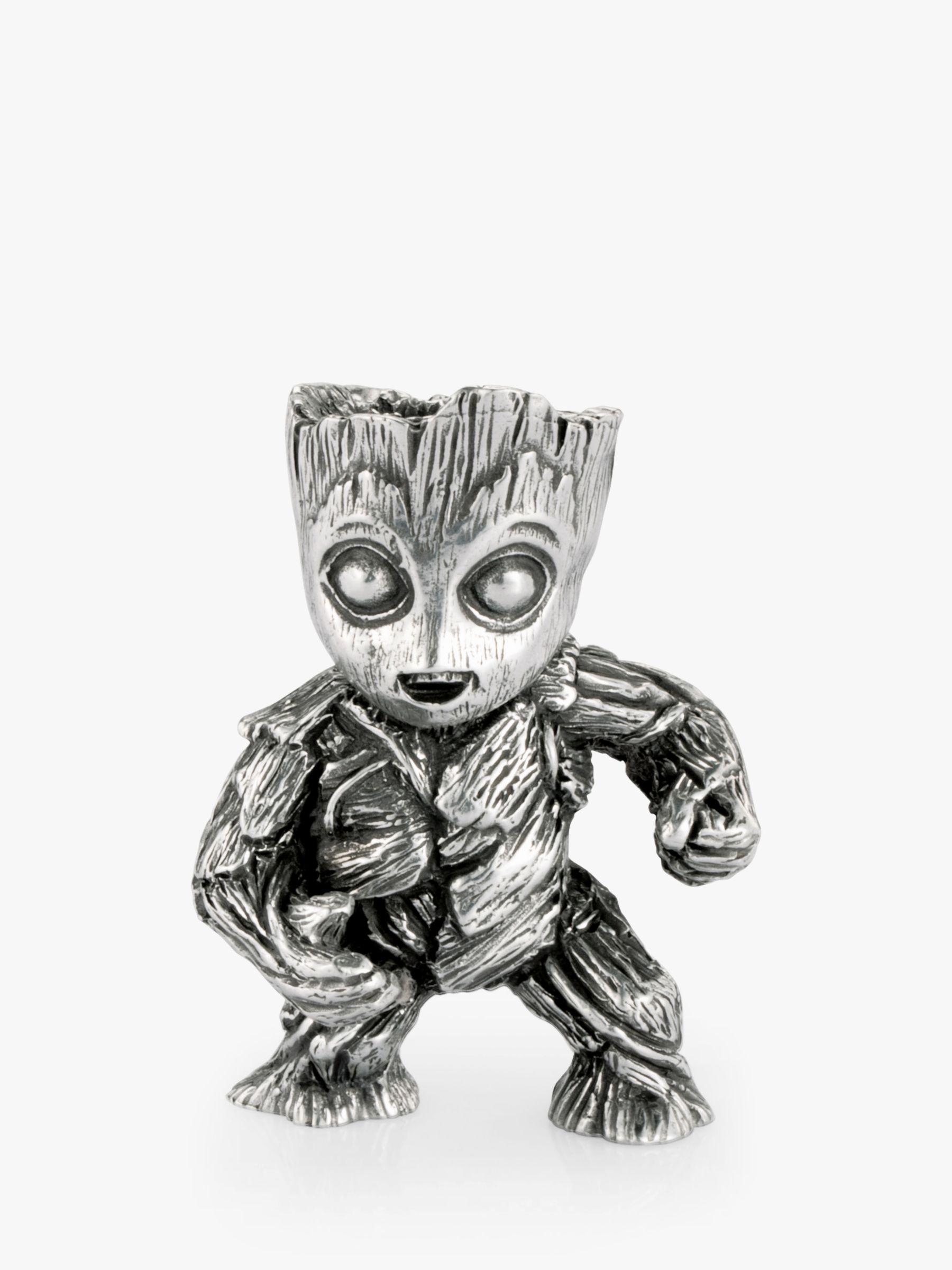 Royal Selangor Royal Selangor Miniature Marvel Groot Figurine