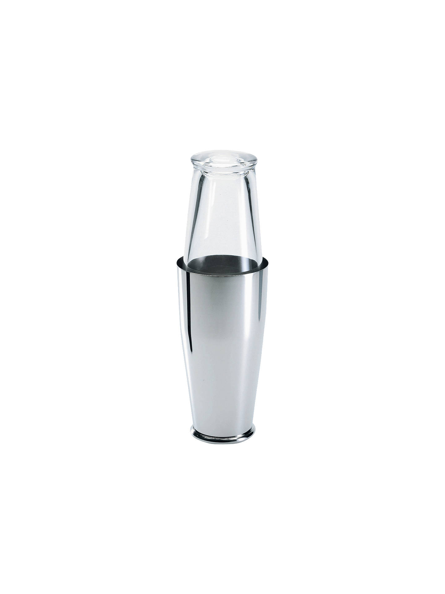 Buy Alessi Boston Stainless Steel Cocktail Shaker Online at johnlewis.com