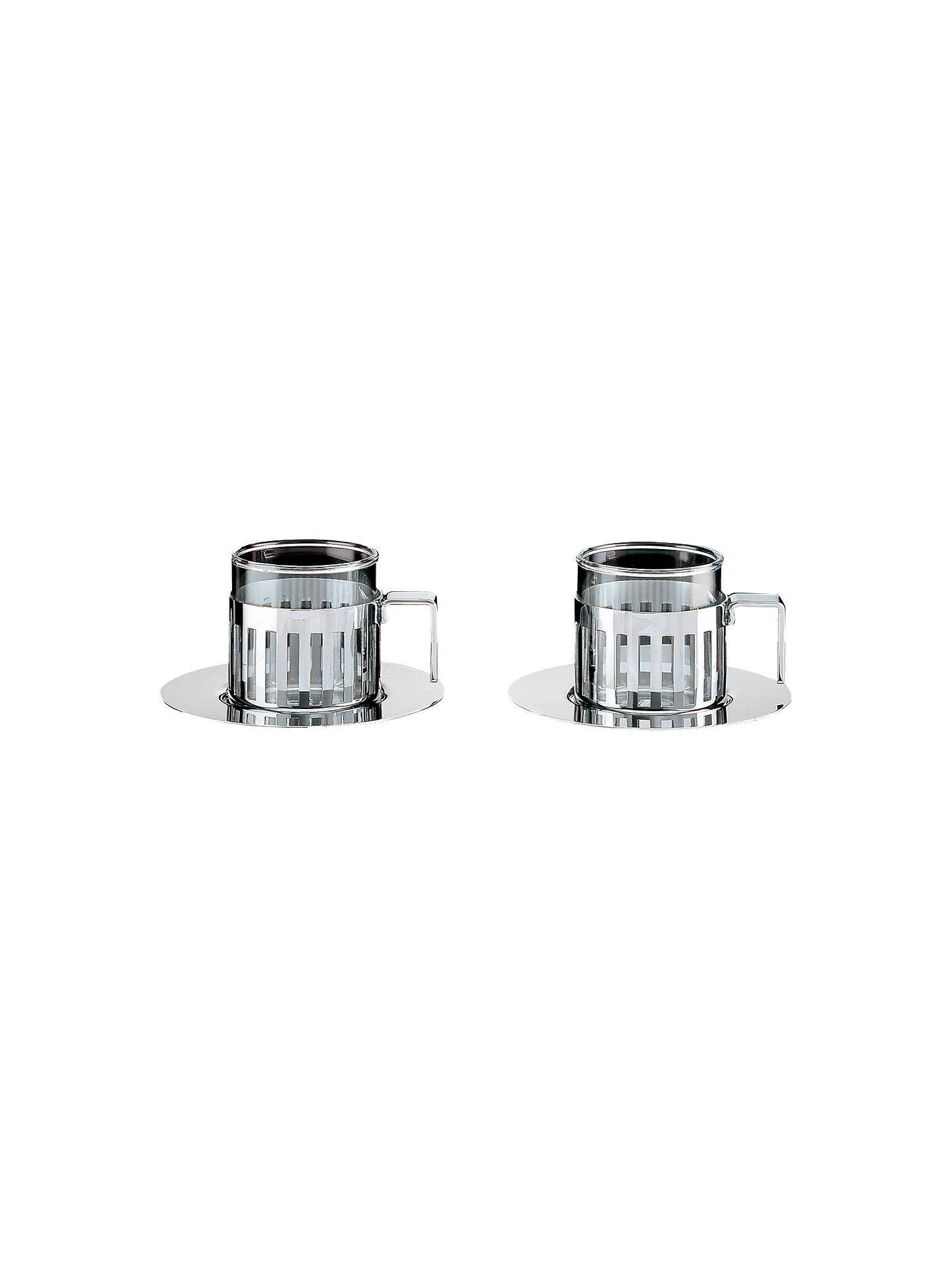 Buy Alessi Espresso Cups, Set of 2 Online at johnlewis.com