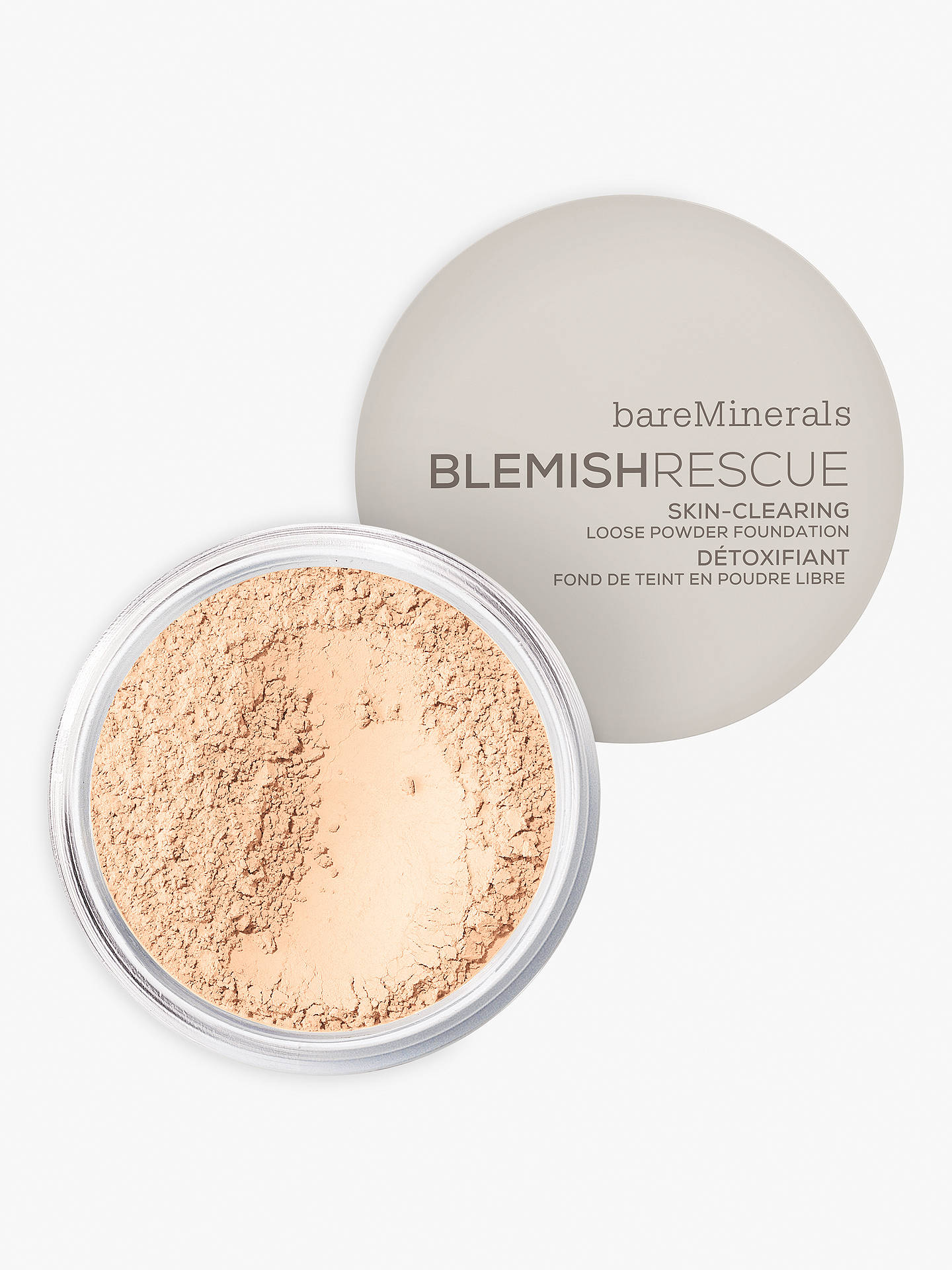 Buy bareMinerals BlemishRescue™ Skin-Clearing Loose Powder Foundation, Fair 1C Online at johnlewis.com