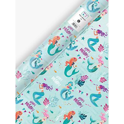 Image of Jack & Lily Mermaid Gift Wrap, 3m