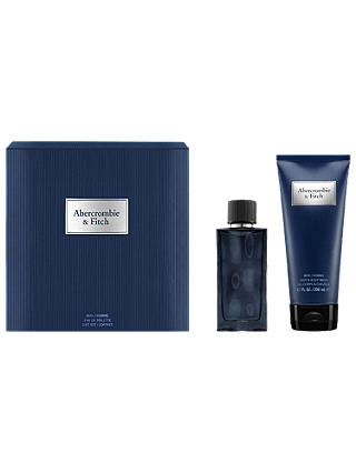 Buy Abercrombie & Fitch First Instinct Blue Man 50ml Eau de Parfum Gift Set Online at johnlewis.com