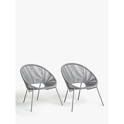 House by John Lewis Salsa Garden Chair, Set of 2