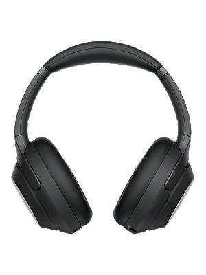 Buy Sony WH-1000XM3 Noise Cancelling Wireless Bluetooth NFC High Resolution Audio Over-Ear Headphones with Mic/Remote, Black Online at johnlewis.com
