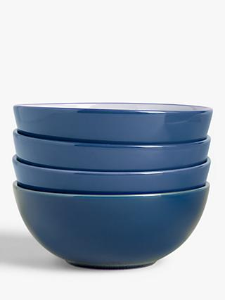 House by John Lewis Stoneware Cereal Bowls, Set of 4