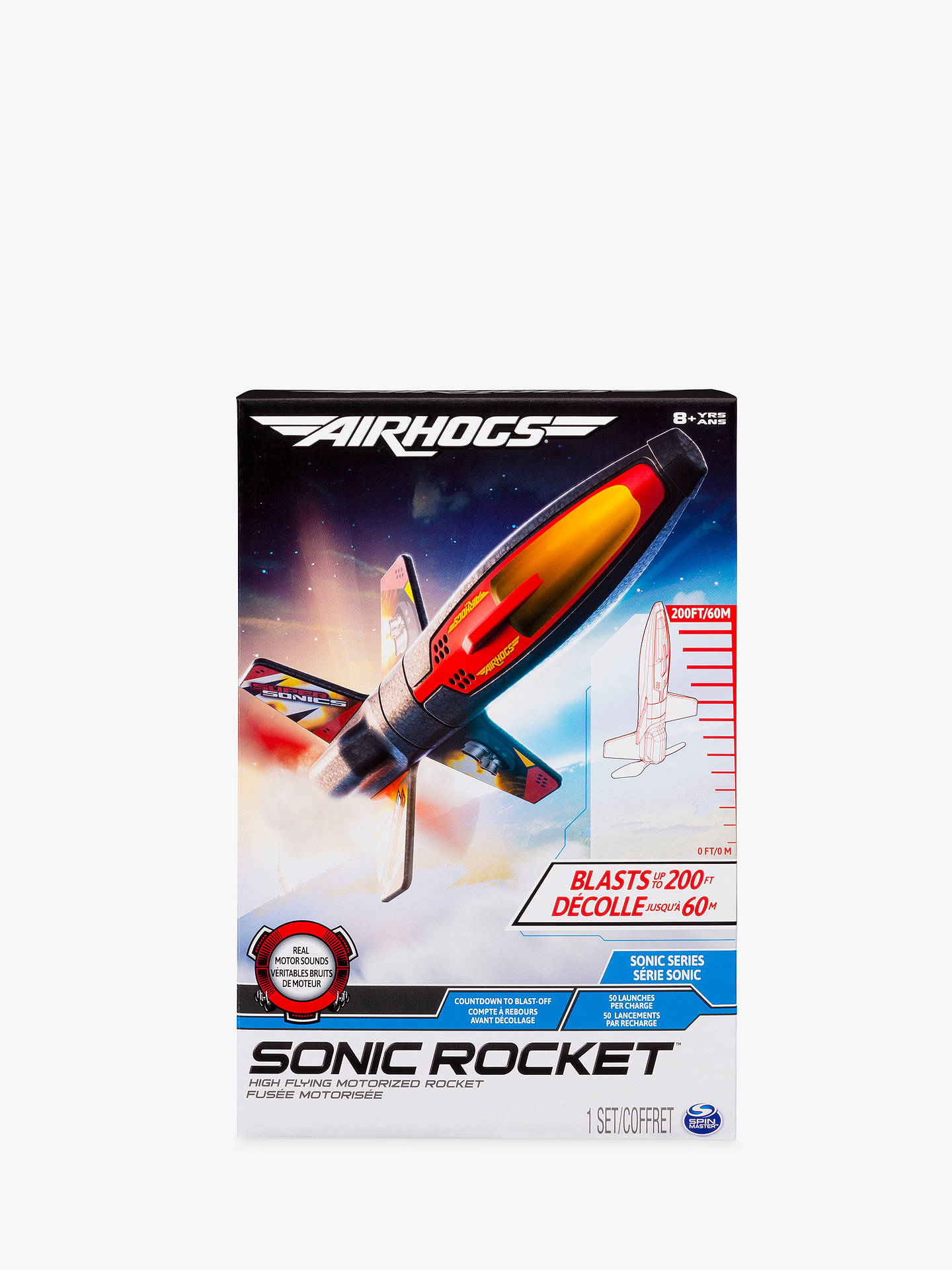 BuyAir Hogs Sonic Rocket Online at johnlewis.com