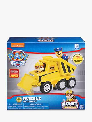 Paw Patrol Rubble's Ultimate Rescue Bulldozer