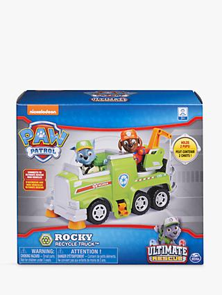 Paw Patrol Rocky's Ultimate Rescue Recycling Truck