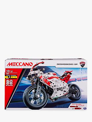Meccano Ducati Desmosedici GP Model Motorcycle Kit